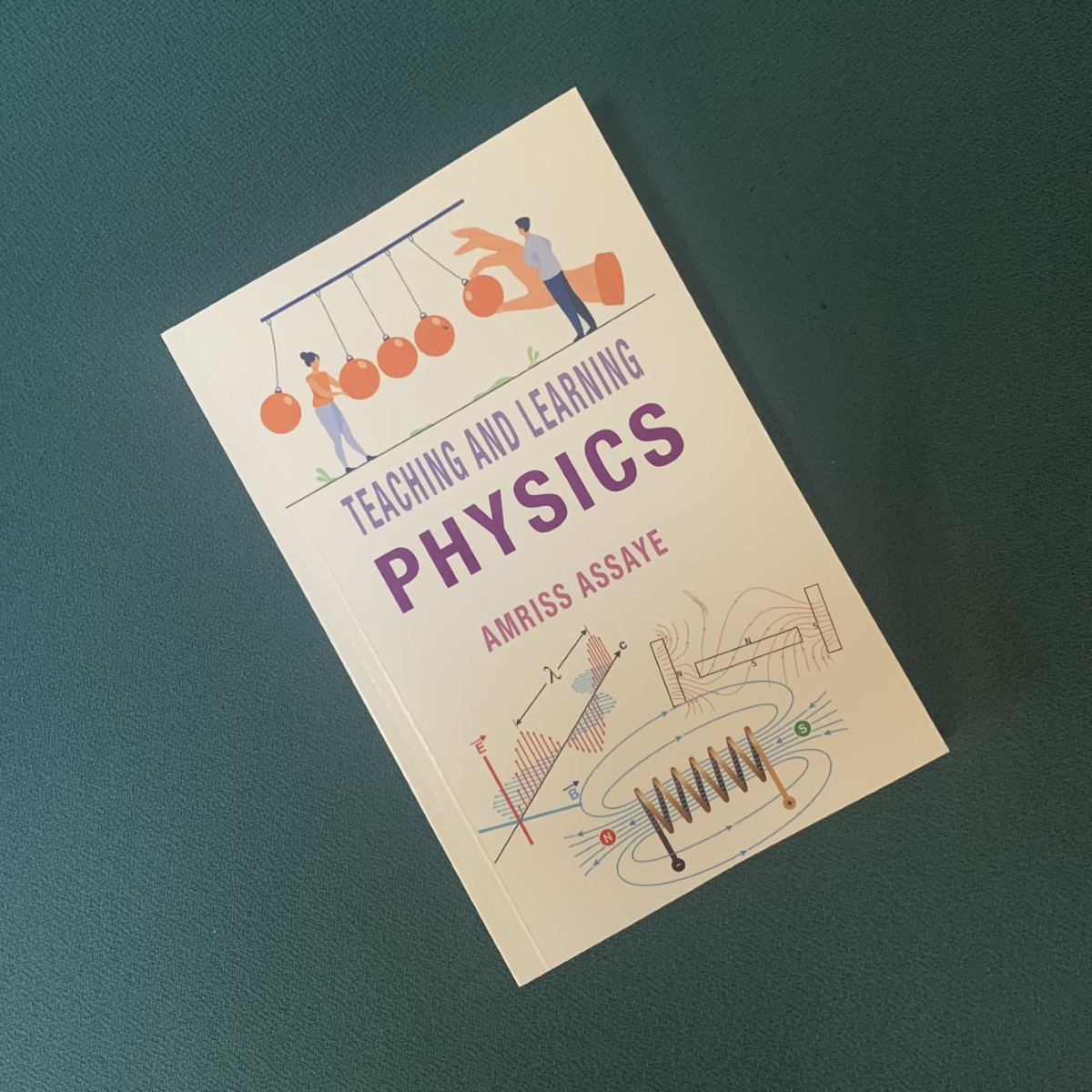 Congratulations to our Trust Learning Lead for Science (Physics) Amriss Assaye who has published his first book 'Teaching and Learning Physics' https://t.co/AfQ00HMMuV https://t.co/gZIMpevcGF