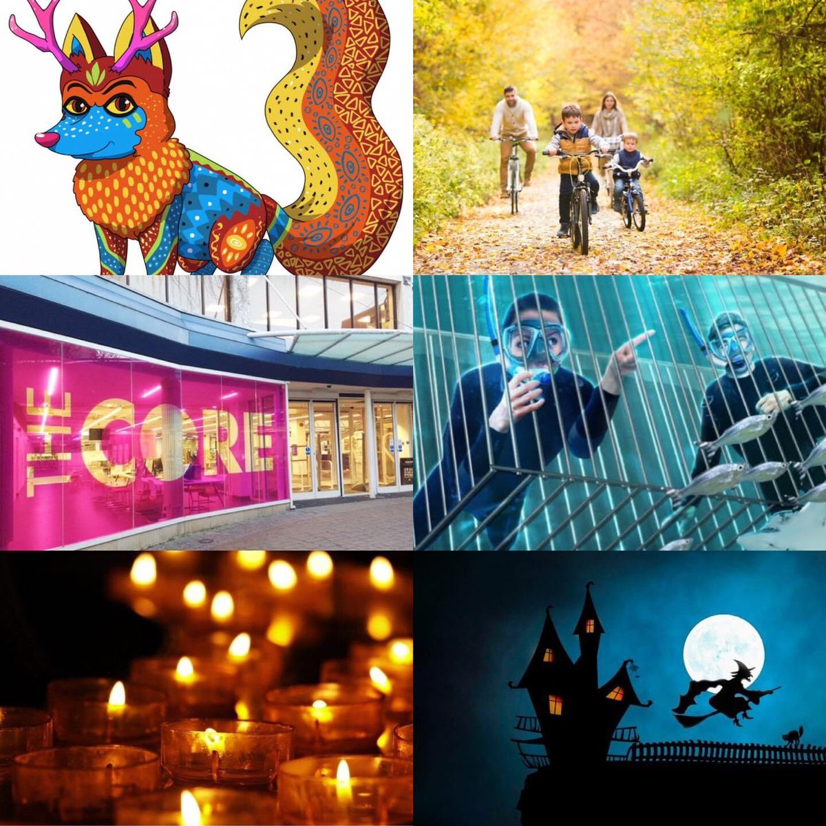 From pumpkin 🎃 picking to augmented reality trails, candle lit walks 🕯to spooky swamps 👻 and cursed castles! Check out our website for half term inspiration!   visitsolihull.co.uk  #halfterm #halloween #solihull #visitsolihull #thingstodo