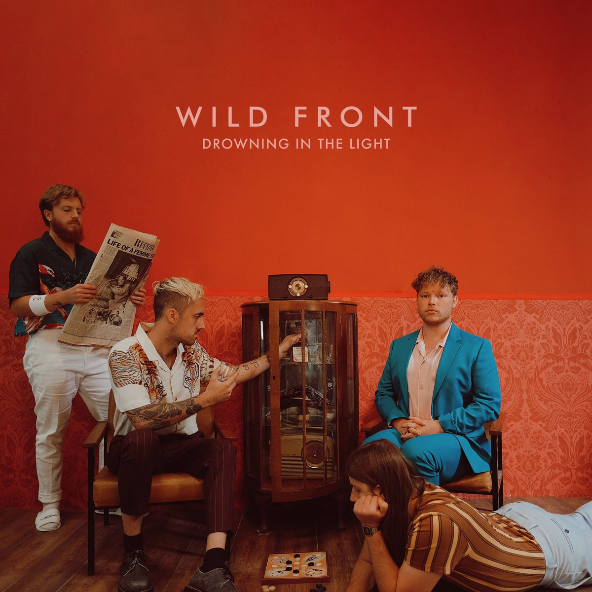 6 years and a bit on from when we first started Wild Front and we've finally got our first debut album 😍 It's some of our favourite music we've ever written and we're so excited to share it with you.    'DROWNING IN THE LIGHT' is out noooow hyperurl.co/jukpoj