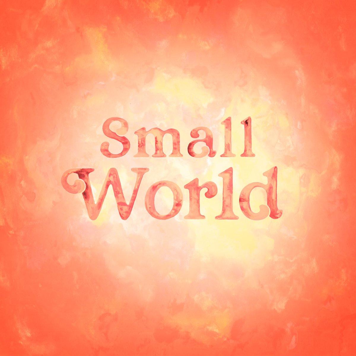 「Small world」を11/1(月)に配信リリースする事が決定しました。配信ジャケットはVERDYさんにデザインして頂きました。