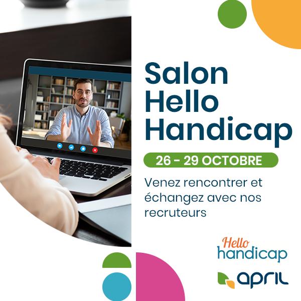 Image for the Tweet beginning: APRIL sera présent au salon