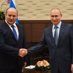 Image for the Tweet beginning: #Sochi: Meeting with Israeli Prime