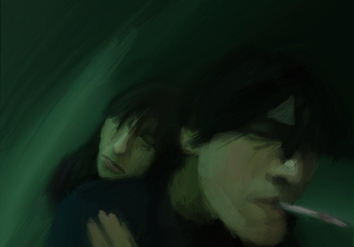 Fallen Angels çizdim. Bu sefer piksel değil.