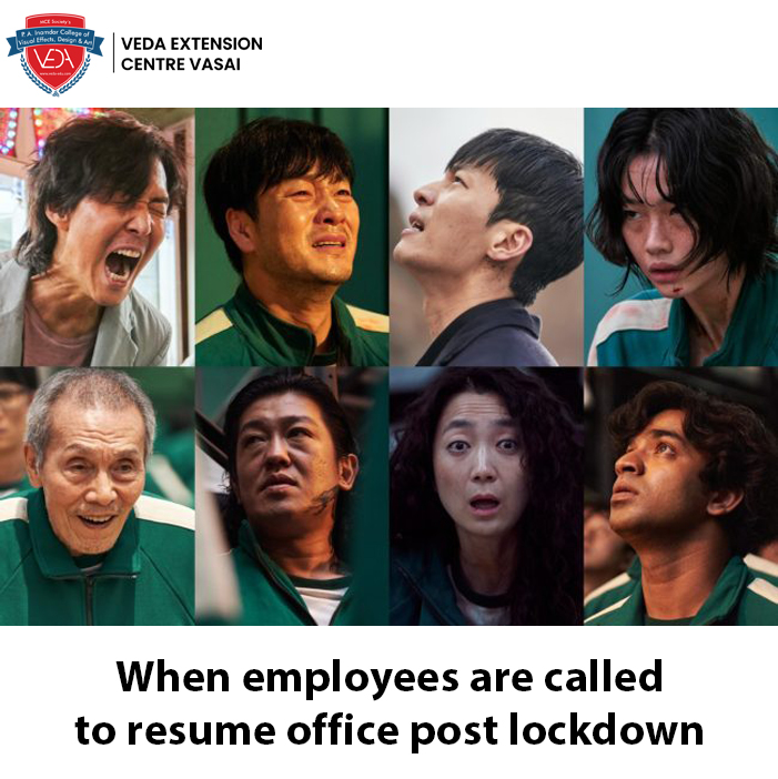 Employees who will be joining office soon.  #vedavasai #memesdaily #Friday #fun