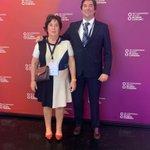 Image for the Tweet beginning: Nuestra Consejera Delegada, MªCristina Carré,