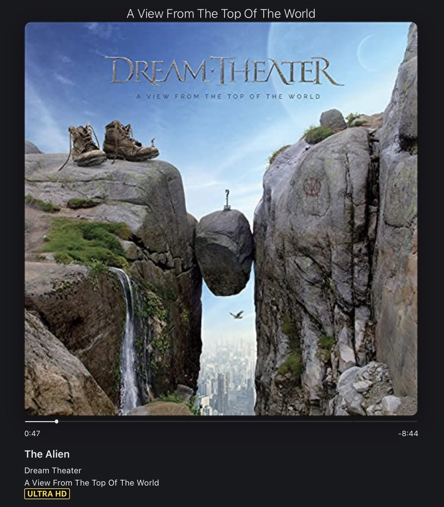 #NowPlaying️ Dream Theater - A View From the Top of the World #NewMusicFriday #DreamTheater