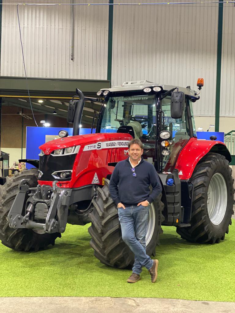 At Love Cheese in Stafford demoing today…couldn't resist, you know how I like tractors 🚜