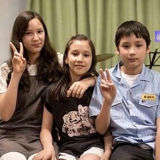 These 3 little children didn't know how successful they'll become in the future