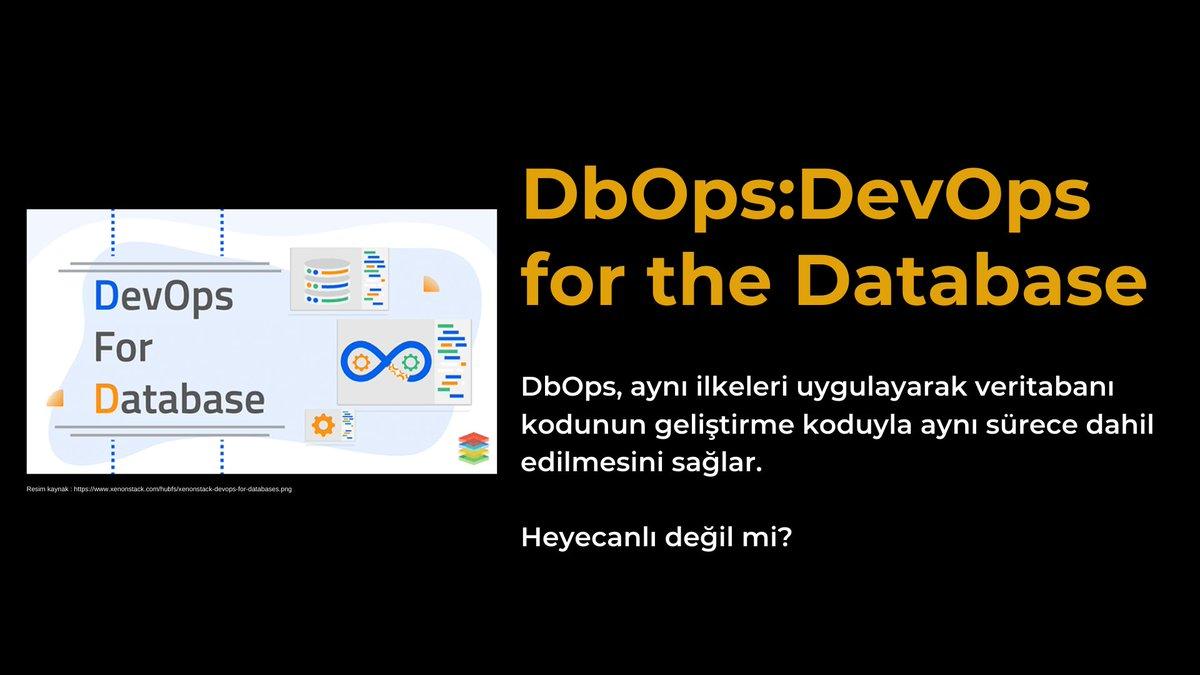 Yarın saat 17:00 de #DeveloperSummit de #DbOps DevOps for the Database konusunundan bahsediyor olacağım. Beklerim efendim. 👇  summit.devnot.com  #sql #developer #DbOps #database  #devops #sqlserver #github