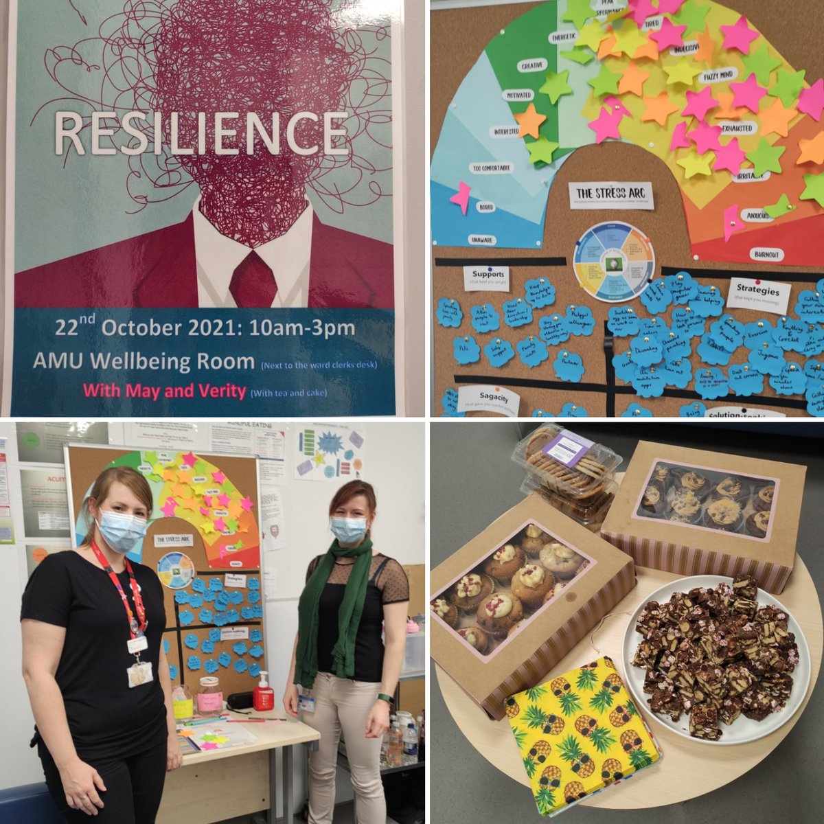 Our 4th Time to Talk about Mental Health Day focussing on resilience today. Thank you to all the staff that participated/contributed. Nice to hear from most of the MDT. #resilience #MentalHealthDay @Shaheen80506432 @vikkiD1974 @KerryJo42273478 @GarriganLynn @PNAdvocates