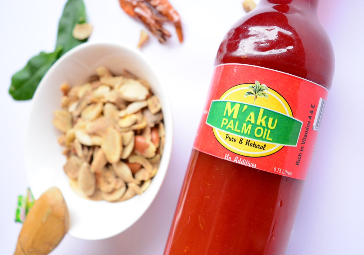 Everything is better when you have M'aku palm oil.   #MAkuPalmOil #PalmOil #Recipe #Lagos #Abuja #MadeInNigeria https://t.co/NaCI66Vmja