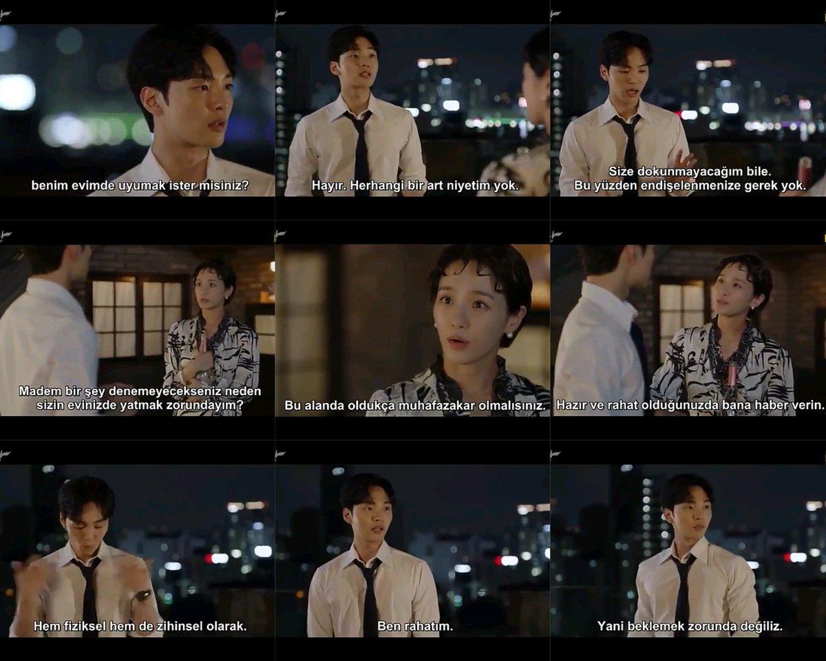 Jin:evimde uyumak ister misiniz?  Bir art niyetin yok size dokunmayağım bile. Dali: madem birşey denemeyeceksiniz neden sizin evinizde yatmak zorundayım. Neden bana dokunmuyor sunuz jin şok🤣 Dali: bu alanda muhafazakar olmisiniz hazır olduğunuzda bana haber verin  Bittim🤣