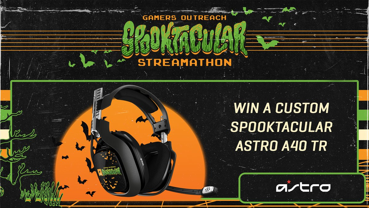 test Twitter Media - Spooky season, charity, and headset giveaways. It doesn't get better.  We're teaming up with @GamersOutreach for #SS2021 and giving away a Spooktacular A40 TR Headset!   Enter to Win // https://t.co/TeAHXQ6K4h Donate // https://t.co/RjKaeI5ATf https://t.co/yPG2KUhtBJ
