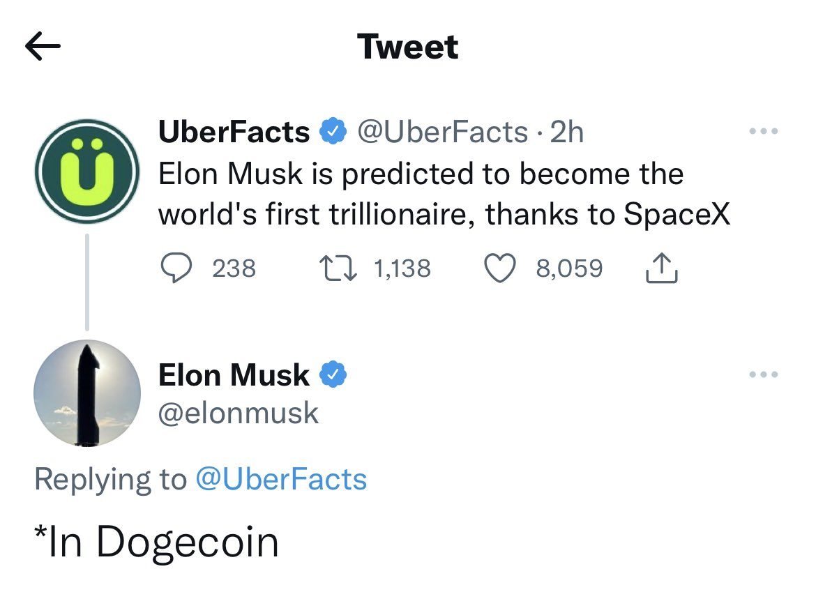 DOGECOIN   Twitter Search