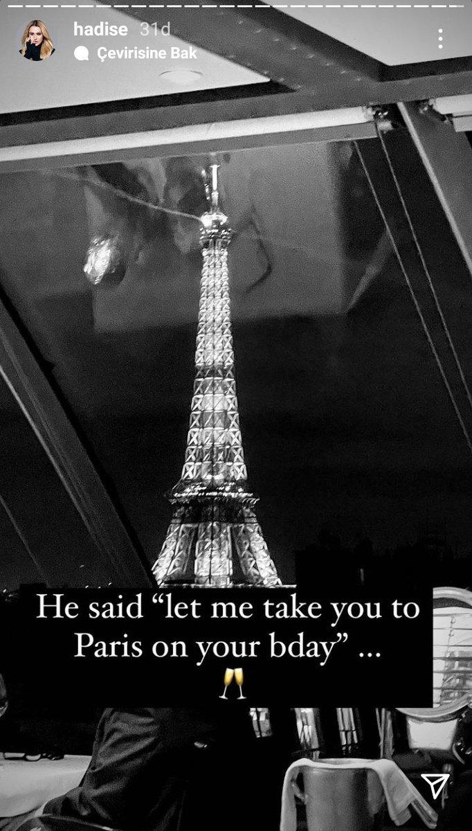 doğum gününde seni paris'e götürmeme izin ver demiş..... sizi doğum gününde nereye götürdüler