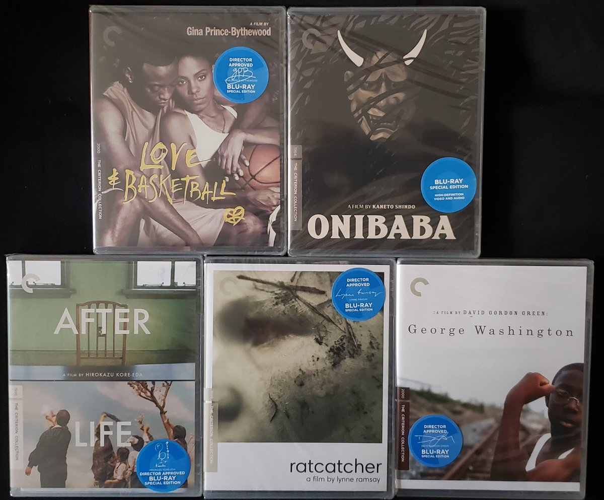 Criterion flash sale order came in quick! The Melvin Van Peebles set is also on its way. https://t.co/NfmZmkLahD