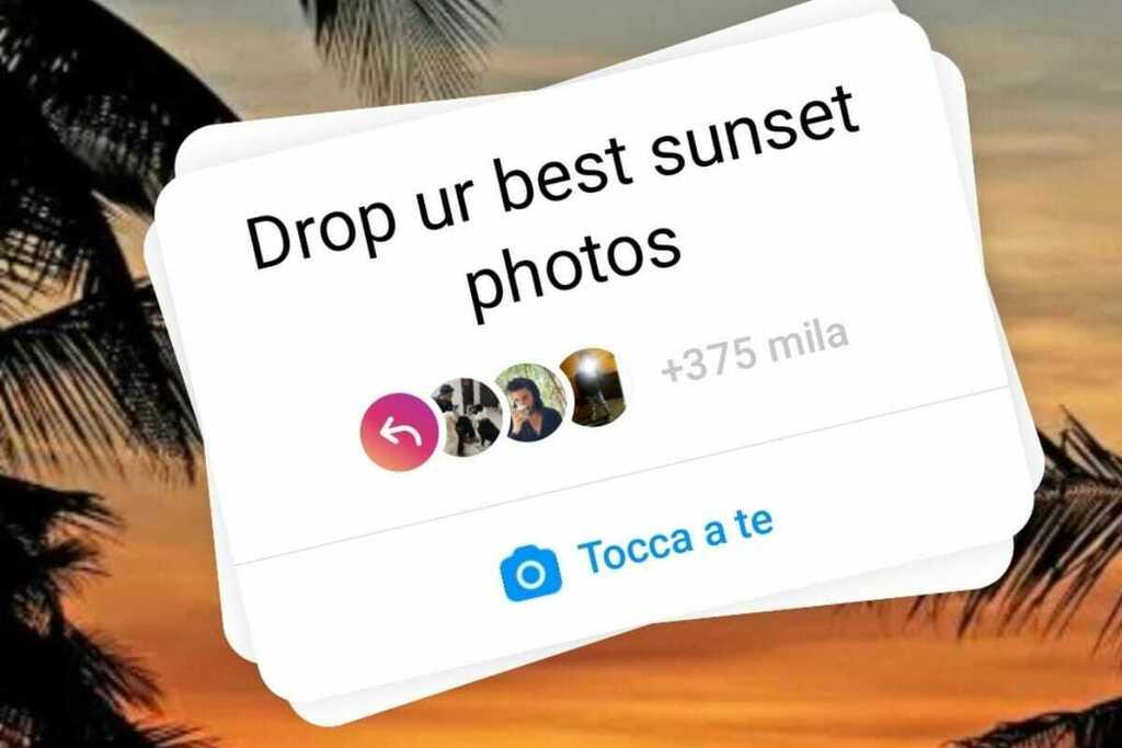 "Adesivi di Instagram: arriva ""Drop your sunset"" - https://t.co/f3OBJeeyzi https://t.co/t7L7MSCId3"