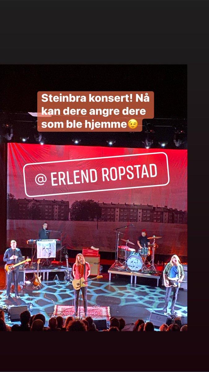 Erlend Ropstad og band rocket Flekkefjord i går🎶 Anbefales!🤘🏻🎸 Neste gang MÅ det bli i Fjellparken @eropstad https://t.co/nAqHOpIvJl