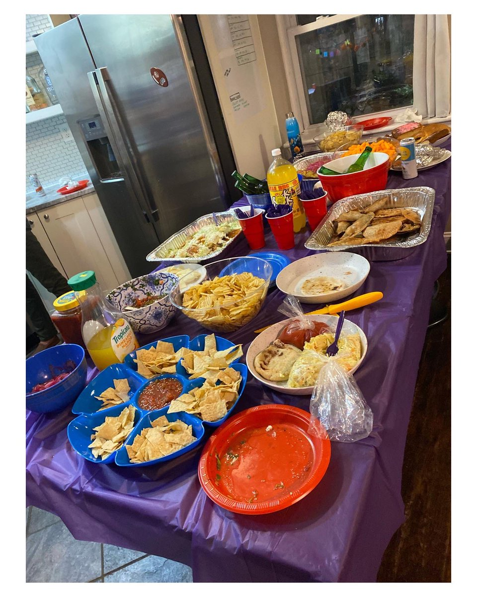 My friend's Hispanic Heritage Month party was LIT!!!