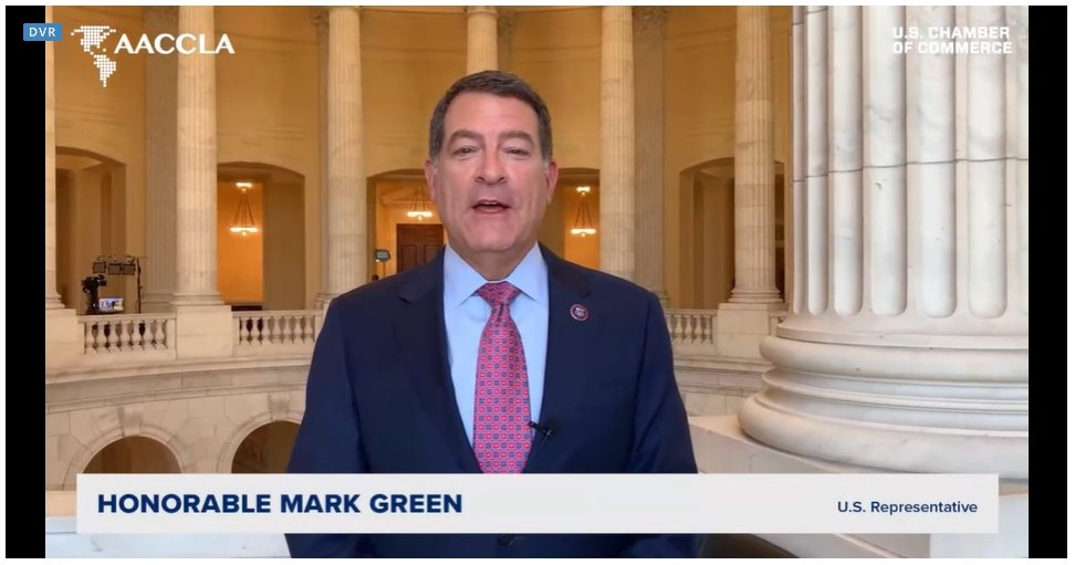 test Twitter Media - The Hon. @RepMarkGreen could not join #FOLAC2021 Conference but he shared a special message to all attendees. Thank you, Congressman! https://t.co/ORhsSJdryl