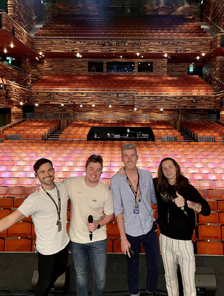 Aylesbury, we're here 🙌 see you tonight at the Waterside Theatre! #Show11 🎟 book for all upcoming venues via gigsandtours.com/tour/collabro