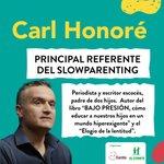 Image for the Tweet beginning: 🥳 Carl Honoré viaja por