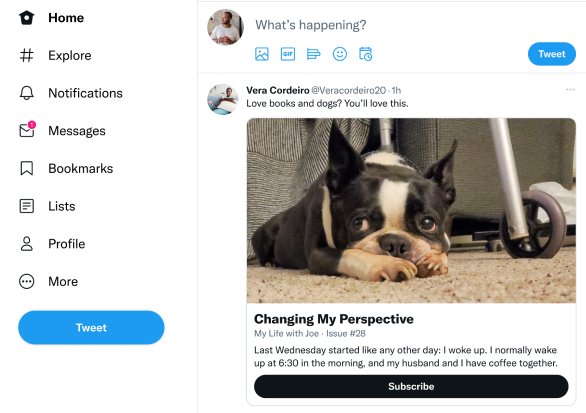 Twitter adds one-click Revue newsletter signup buttons to tweets