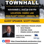 Image for the Tweet beginning: Don't miss the town hall