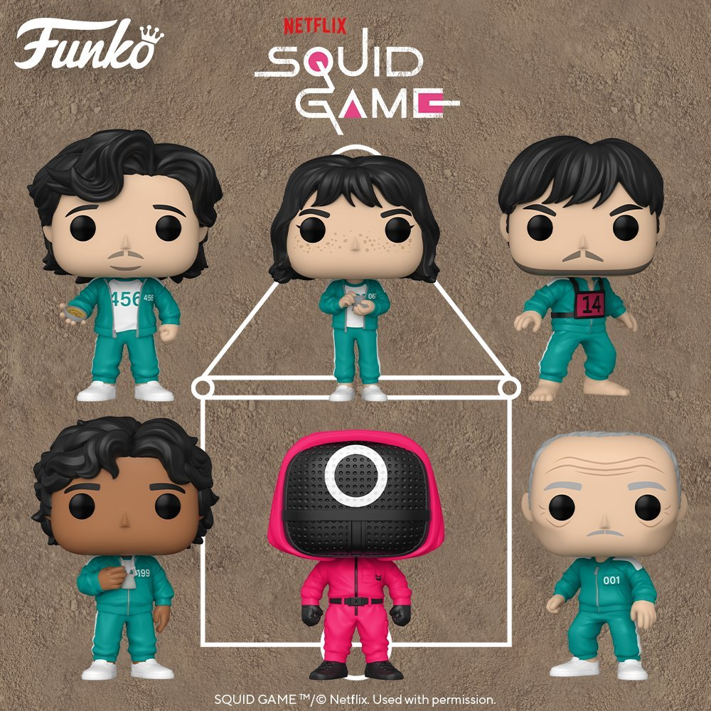 Squid Game Funko Pop figures up for preorder on Amazon   Walmart  #ad