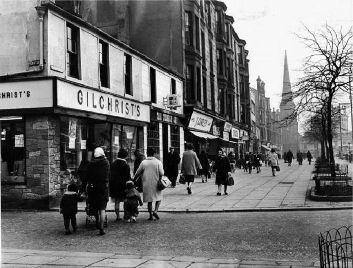 Main Street, Rutherglen, 1967. (Herald)