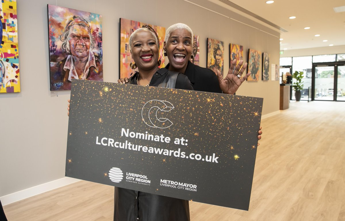 Get your nominations in for the 2021 Liverpool City Region Culture and Creativity Awards #LCRCultureAwards2021 find out more at: lcrcultureawards.co.uk Competition closes on 12th November.