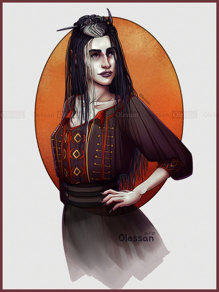 Replying to @Olessan: Laudna, Marisha's new character :) #criticalrolefanart #CriticalRoleCampaign3 #CriticalRole