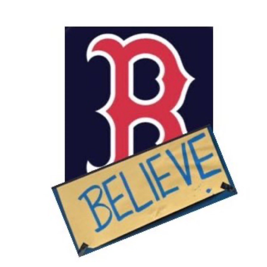 Feeling really confident about the Red Sox tonight. Just gotta believe.
