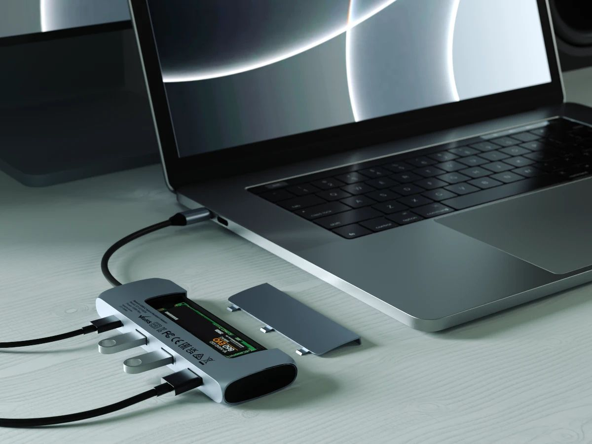 Satechi's USB-C hub can hold an SSD if you have more money than ports