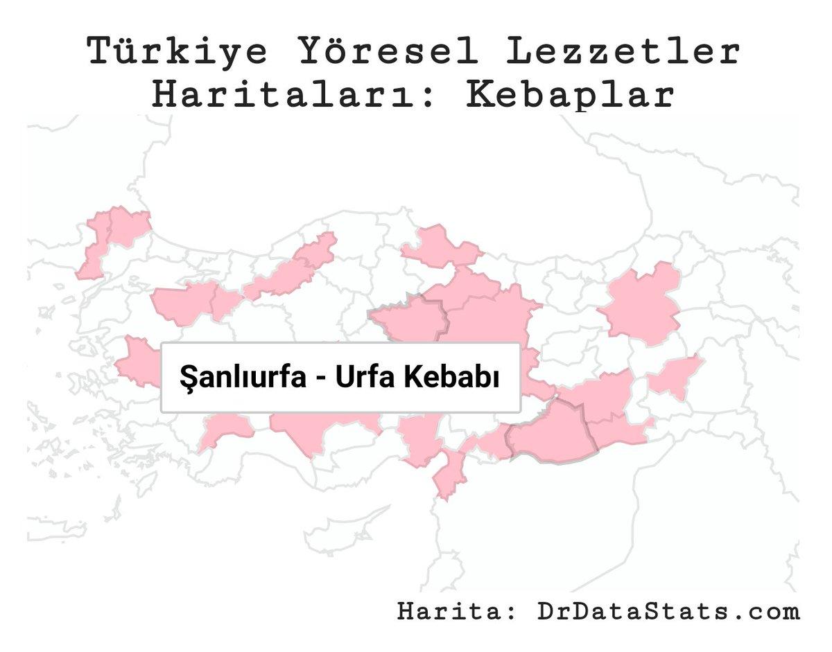 Türkiye #kebap haritası:drdatastats.com/turkiye-yorese…