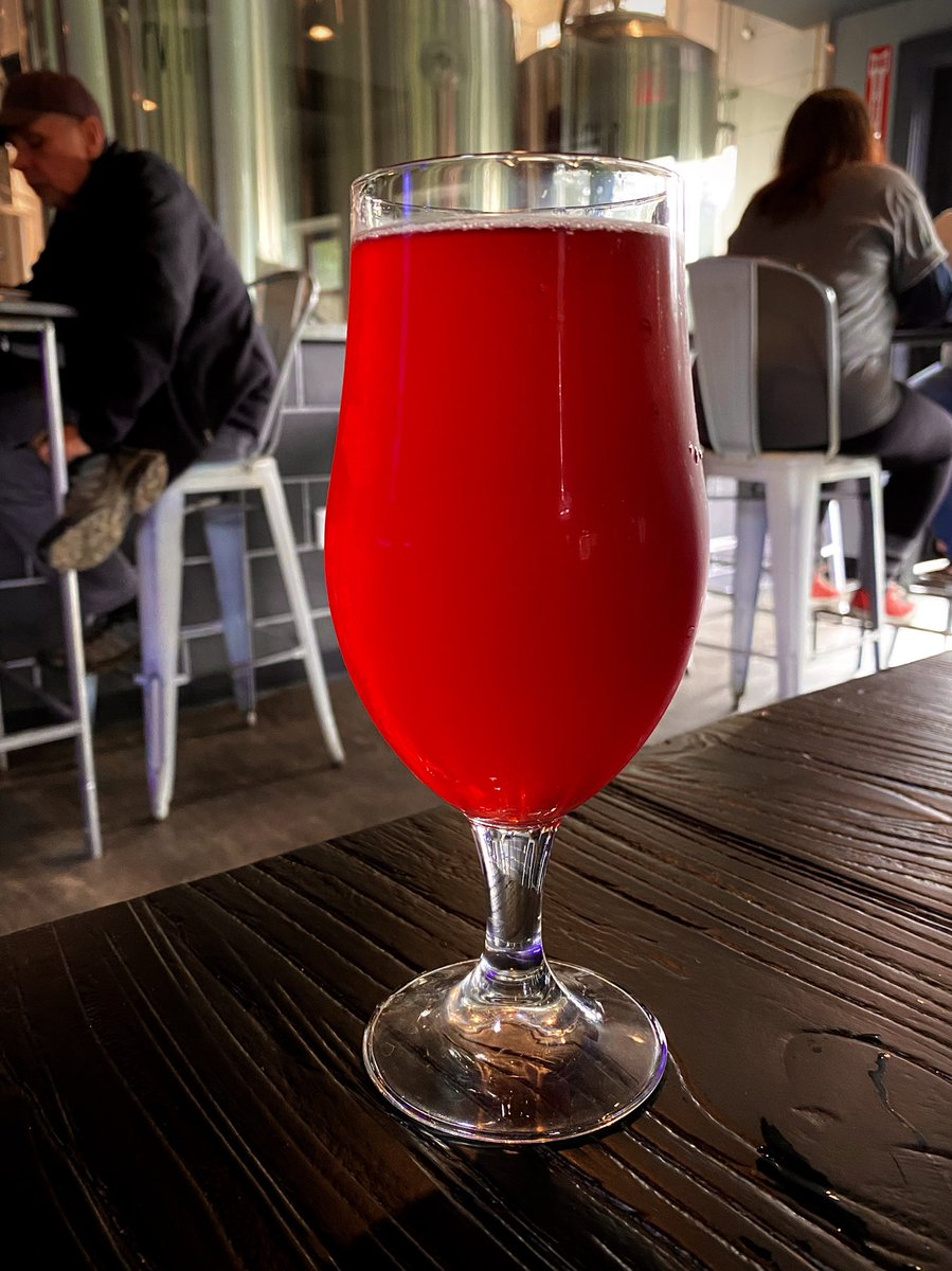 Cheers to a very busy weekend ahead, feat. rereading my manuscript, updating my website, home repairs, and a trip to Burlington. But first! Beet beer. 🍻   #WritingCommunity #writerslife