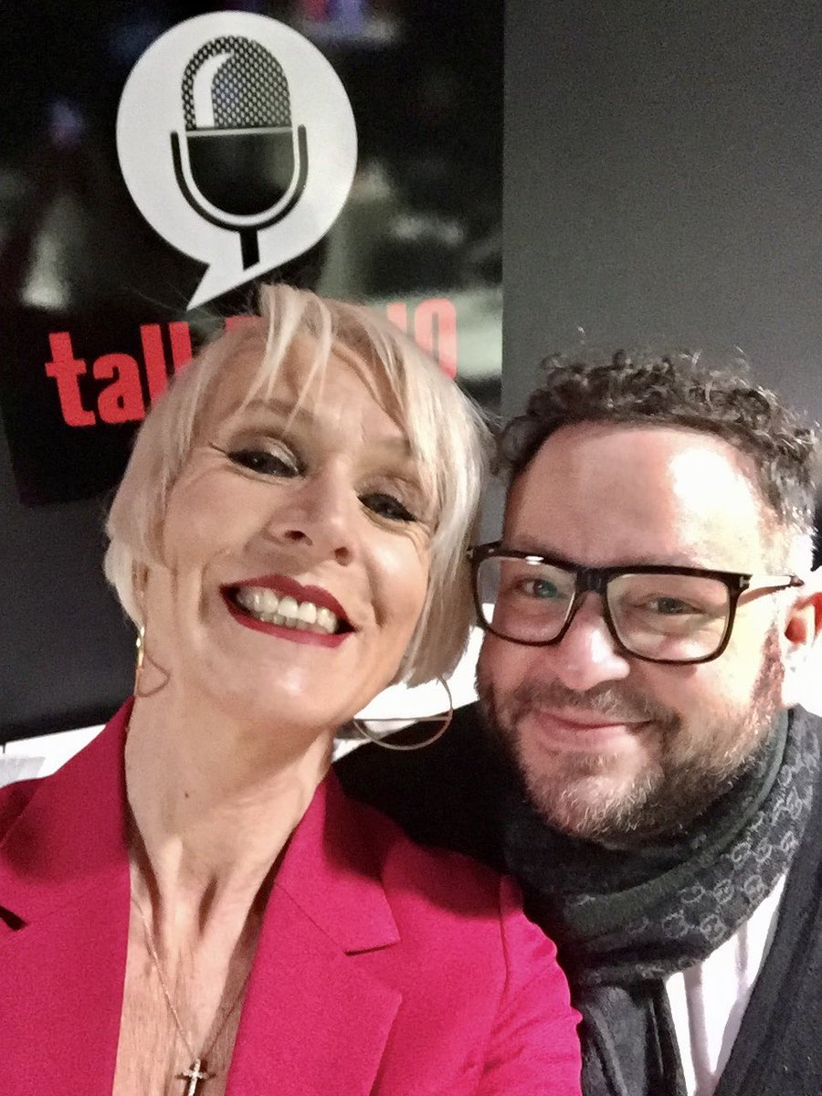 If you're missing me already (cough) be having a live #NeesomThreesome with fab @cristo_radio @talkRADIO #Breakfast tomorrow. 7-10. 😈