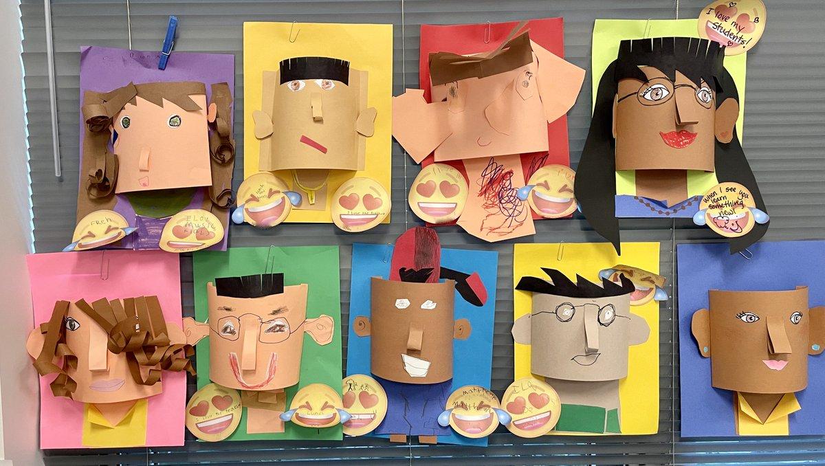 Erstellen Sie 3D-Porträts, um all unsere Gemeinsamkeiten und Unterschiede festzuhalten. Diese Zweitklässler nutzen Kreativität, Problemlösung und schiere Einfallsreichtum, um unsere Gemeinschaft und Vielfalt einzufangen und auszudrücken. @AbingdonGIFT @APSGifted #ABDRocks https://t.co/zGWirjNRF2