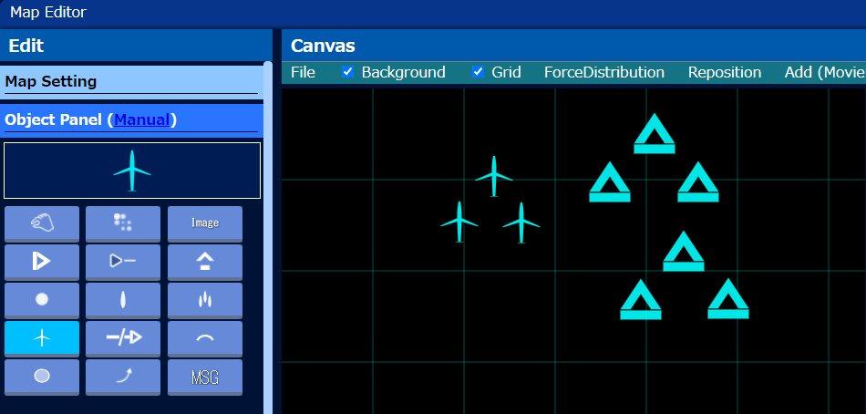 【TacticalMapTool】Ver.2.3.1■Map Editor・飛行機のオブジェクトを追加これであのシーンの再現も。。。#MuvLuv #マブラヴオルタネイティヴ #マブラヴ