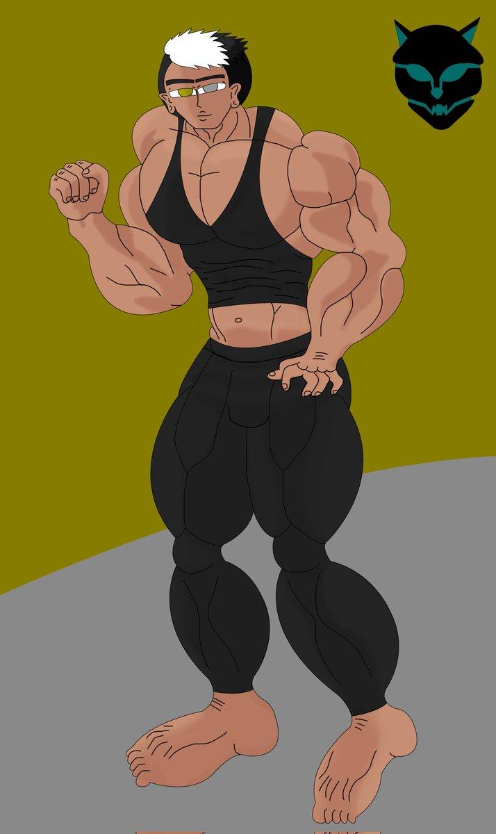 Albert (Baki Body) Civil ver  #bakiart #illustration #klcart #muscleart #klcdrawings
