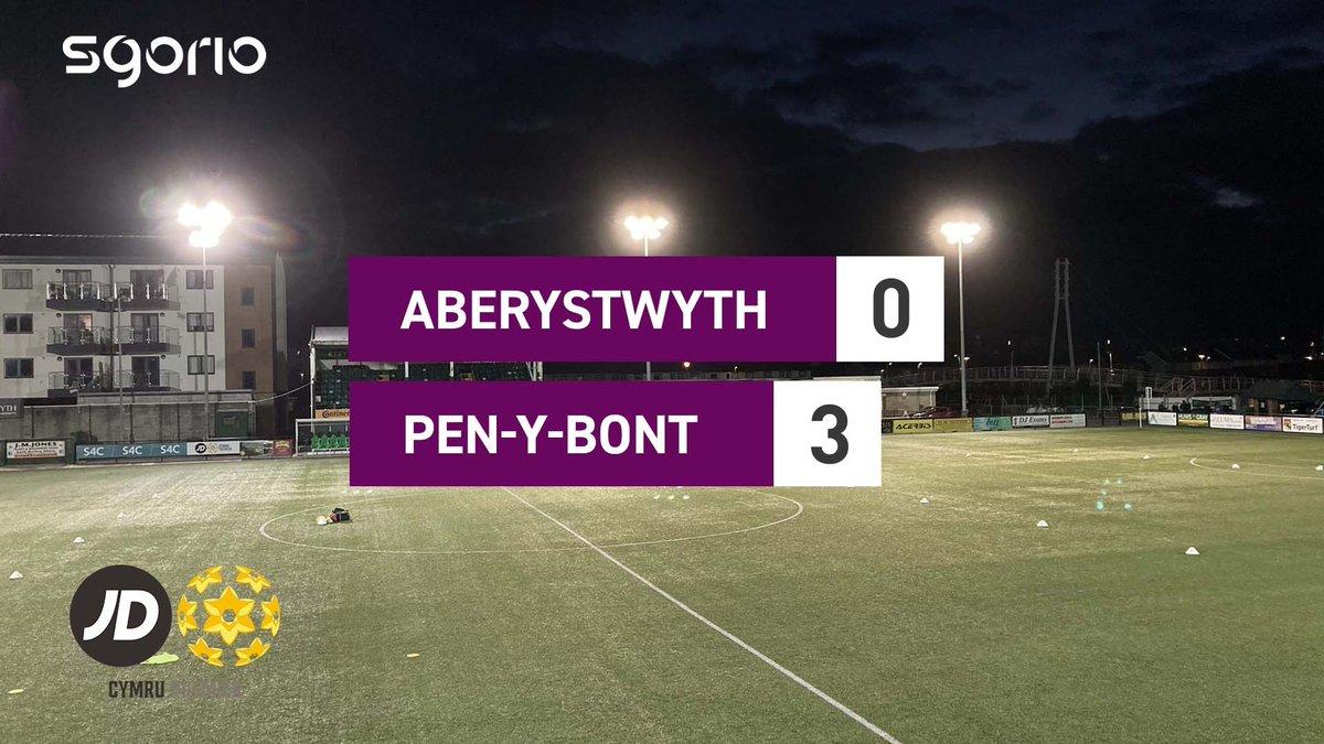 Image for the Tweet beginning: Uchafbwyntiau   Highlights: @AberystwythTown 0-3