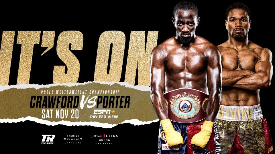 The @TerenceCrawford-@ShowtimeShawnP fight next month is nearly sold out, per Top Rank President @ToddDuboef, with a couple hundred tickets left.  🗨duBoef on #FuryWilder3: 'We ended up doing really well at the gate, and closed-circuit/pay-per-view revenue was relatively strong.'