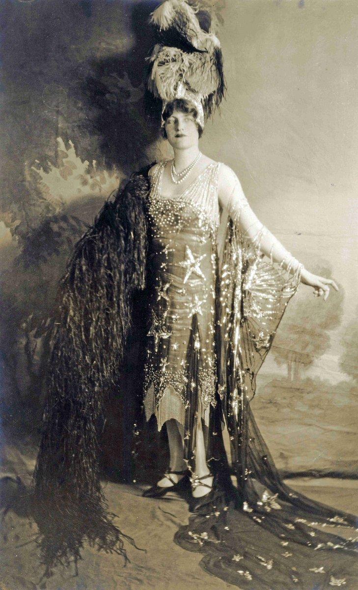 """Starry Night"" costume, 1926. Hillwood Museum."