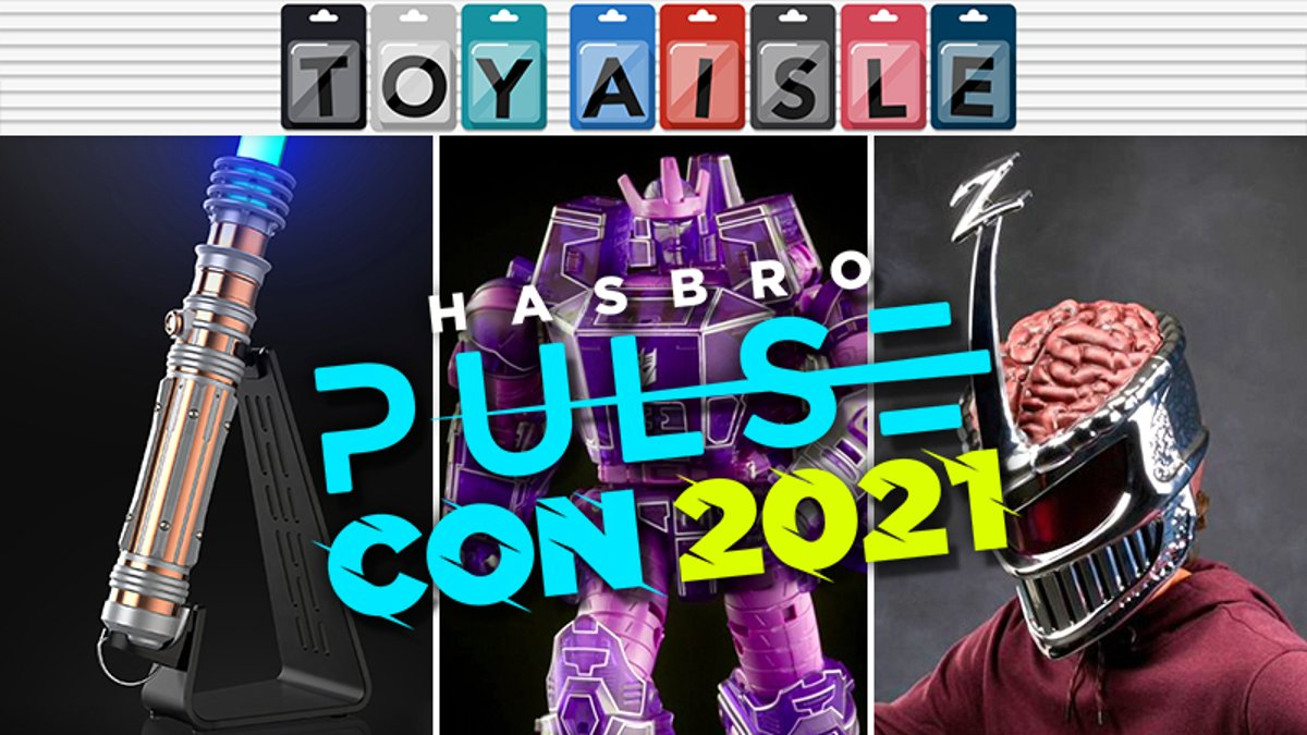 The Coolest Star Wars, Power Rangers, and Transformers Toys Revealed at Hasbro Pulsecon