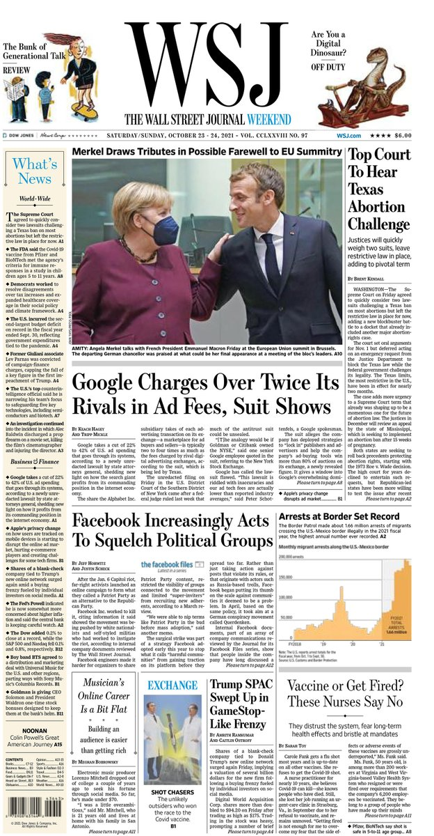 test Twitter Media - Here is an early look at the front page of The Wall Street Journal's weekend edition https://t.co/WsthuuDqxe https://t.co/m63AXoCsG7