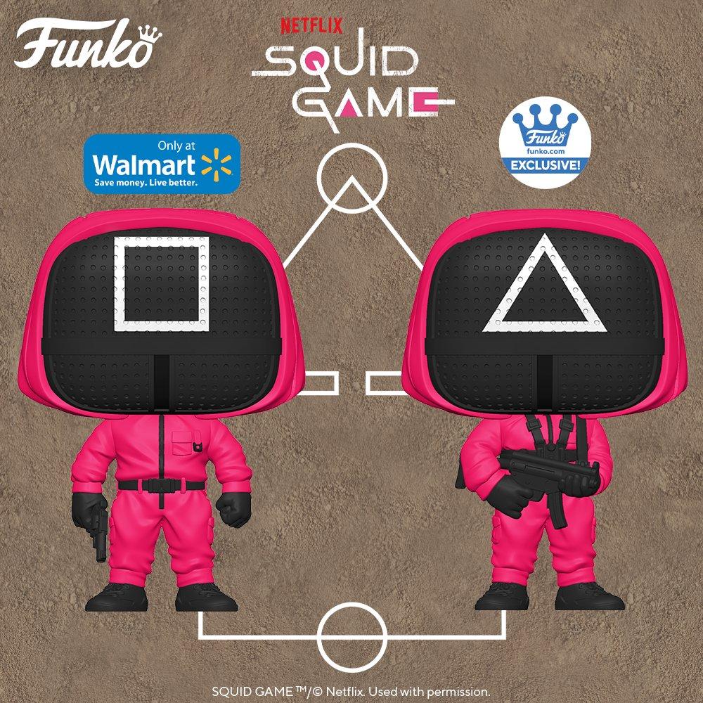Squid Game için tanıtılan Funko Pop figürleri