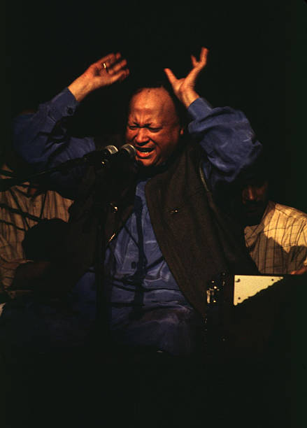 Beyond etherical to see Nusrat Fateh Ali Khan raise the roof in concert @CityRadioMusic Hall, 1996