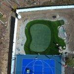 Image for the Tweet beginning: Got #golf ⛳🇺🇸  Base prep by @sportcourtma  Bunker