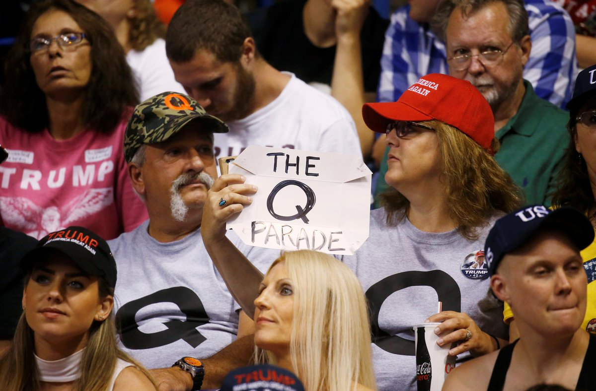 Facebook researchers were warning about its recommendations fueling QAnon in 2019
