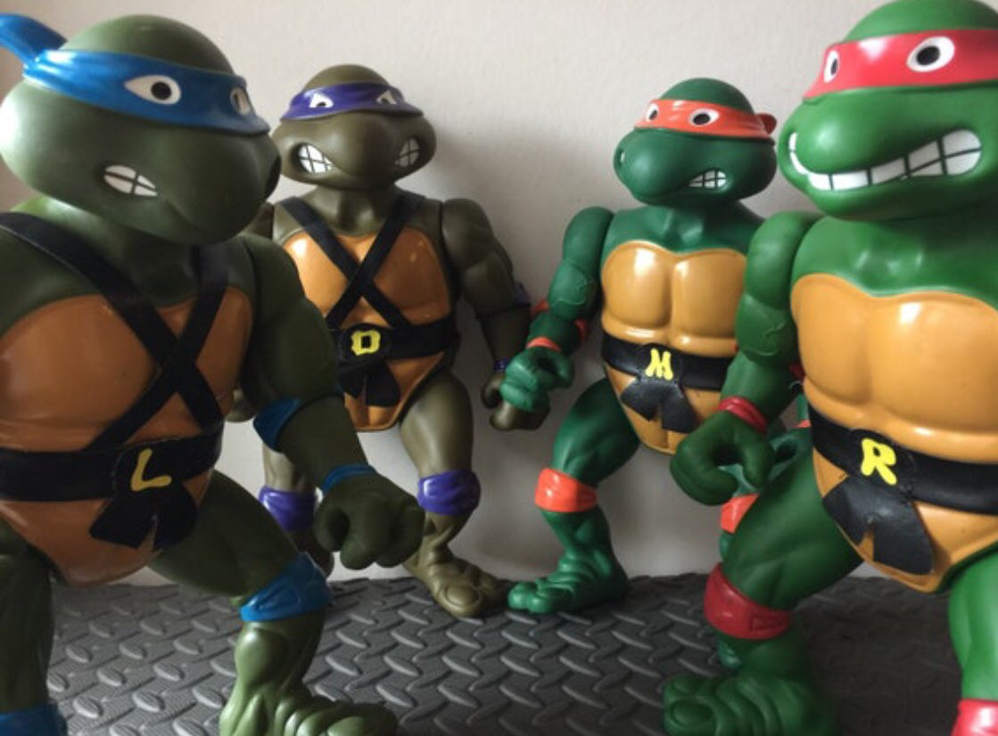 Replying to @jodyvanb: Giant TMNT hit the store this week! You can also find Ghostbusters, MOTU, Sesame Street and more...